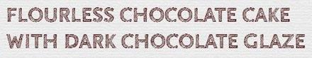 flourless cake logo