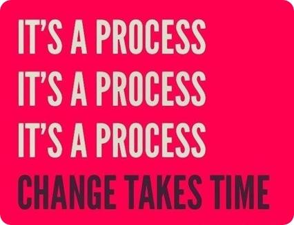 It's a process!