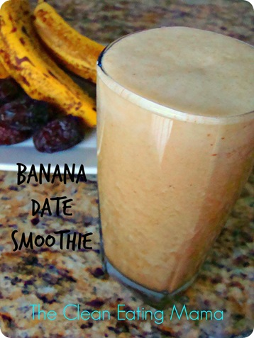 banana date smoothie 2