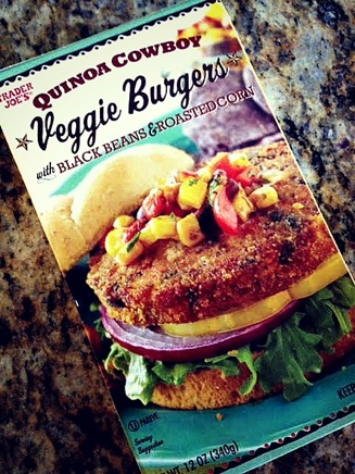 veggie burger day 2