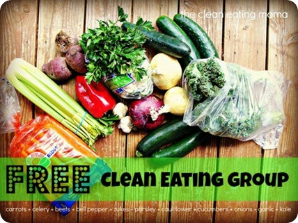 free clean eating group