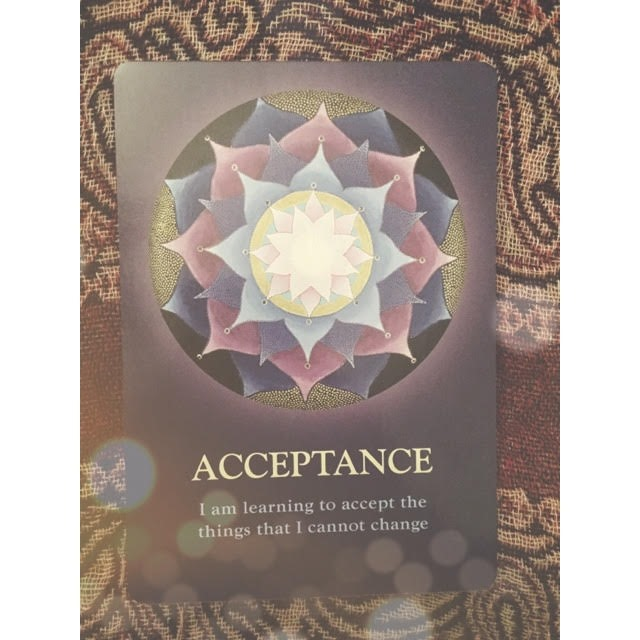 the dichotomy of acceptance versus resistance